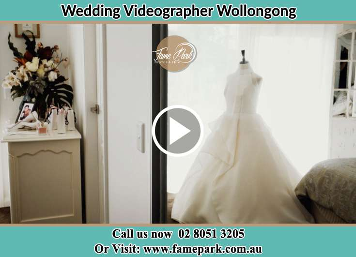 The bridal gown Wollongong